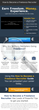 How To Become A Freelance Recruiter preview. Click for more details