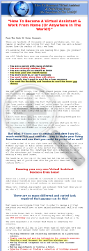 How To Become A Virtual Assistant & Work From Home preview. Click for more details