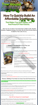 How To Build A Treehouse preview. Click for more details