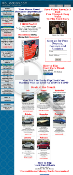How To Flip Used Cars preview. Click for more details