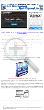 How To Get Motivated To Achieve Your Goals preview. Click for more details