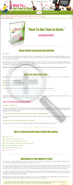 How To Get Your Ex Back preview. Click for more details