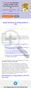 How To Kill Procrastination Instantly preview. Click for more details