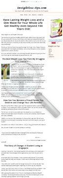 How To Lose Weight And Build Up Health preview. Click for more details