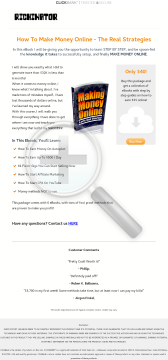 How To Make Money Online - The Real Strategies preview. Click for more details