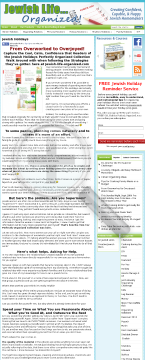 How To Organize The Major Jewish Holidays! preview. Click for more details