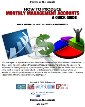 How To Produce Management Accounts preview. Click for more details