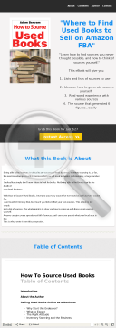 How To Source Used Books preview. Click for more details