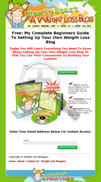 How To Start A Weight Loss Blog preview. Click for more details