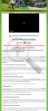 How To Start Your Own Lawn Care Business! preview. Click for more details