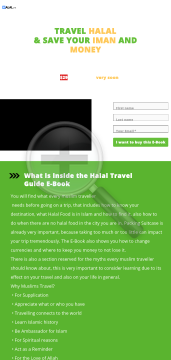 How To Travel As A Muslim - Ebook, 100% Commissions Available preview. Click for more details