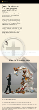 How To Unleash Your Most Awesome Self preview. Click for more details