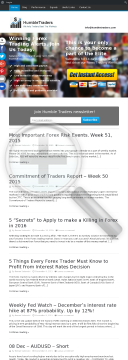Humbletraders - We Help Traders Beat The Market preview. Click for more details