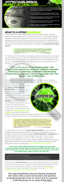 Hypnosubliminal Money Attractor - Hypnosis And Subliminal Programming preview. Click for more details
