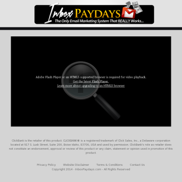 Inbox Paydays - Lifetime Access preview. Click for more details