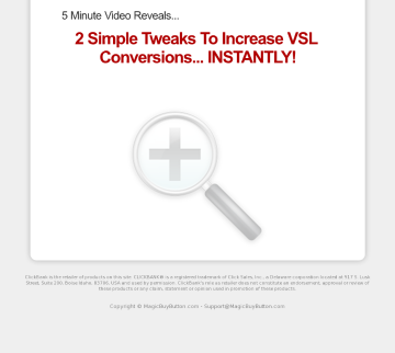 Increase Your Vsl Conversions Immediatly! preview. Click for more details