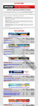 Information Products preview. Click for more details