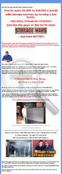 Insider Secrets To Making Money With Storage Auctions preview. Click for more details
