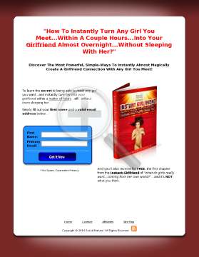 Instant Girlfriend: From Dating To Instant Girlfriend preview. Click for more details