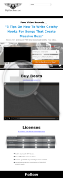 Instrumentals By Music Producer Big Shot preview. Click for more details