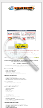 Internet Marketing Catalyst's Email Buddy Research Tool preview. Click for more details