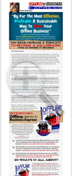 Internet Marketing & Offline Local Business Marketing preview. Click for more details