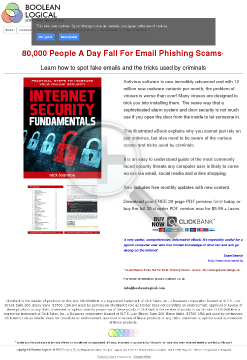 Internet Security Fundamentals Ebook preview. Click for more details