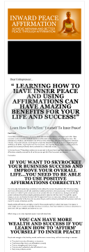 Inward Affirmations preview. Click for more details