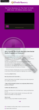 Iprofit Mastery Is A Social Media Training Course On Pinterest preview. Click for more details