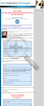 Job Interview Success System. preview. Click for more details