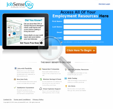 Jobsense360 - Employment Resources preview. Click for more details
