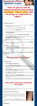 Keratosis Pilaris Remedy Forever ~ Brand New ~ 12% Conversion Rate! preview. Click for more details