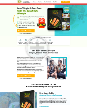 Keto Smart - New High Converting Diet Offer preview. Click for more details
