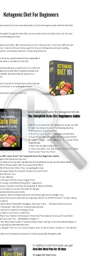 Ketogenic Diet 101 preview. Click for more details