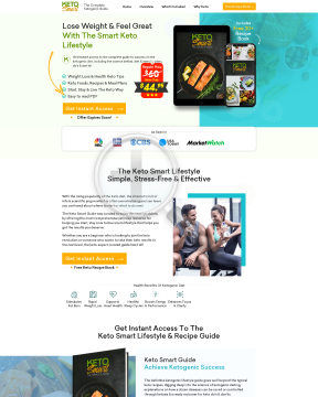 Ketogenic Smart: The Complete Keto Beginner's Guide preview. Click for more details