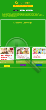 Key Stage 1 (age 4-7) Mental Maths Practise Questionnaire preview. Click for more details