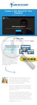 Launch Your Life Academy - Expert Training For Success preview. Click for more details