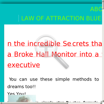 Law Of Attraction Blueprint preview. Click for more details
