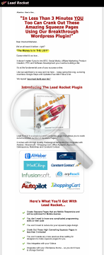 Lead Rocket Builds Huge Lists With Little Traffic preview. Click for more details