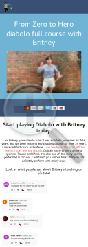 Learning Diabolo With The Best Instructor!! Hot! New!! preview. Click for more details