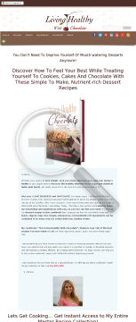 Living Healthy With Chocolate: Paleo/primal Dessert Cookbook preview. Click for more details