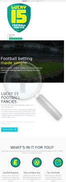 Lucky 15 Football Fancies. preview. Click for more details
