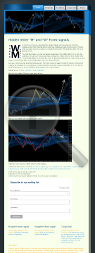 M And W Pattern Forex Signals preview. Click for more details