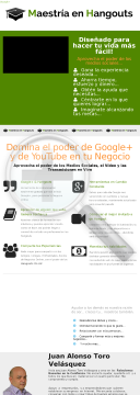 Maestria En Hangouts preview. Click for more details