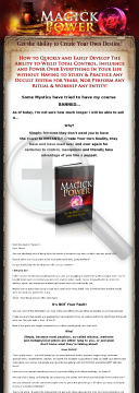 Magickpower.com - Unique Best Selling Product! 3% Conversion Rate! preview. Click for more details