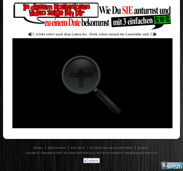 """Magnetische SMS """"die Keylock Sequenz"""" preview. Click for more details"""