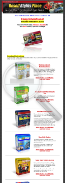 Make Money By Giveing Our Products With Master Resell Rights preview. Click for more details