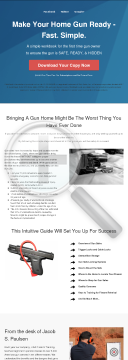 Make The Home Gun Ready preview. Click for more details