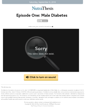 Male Diabetes Solution preview. Click for more details