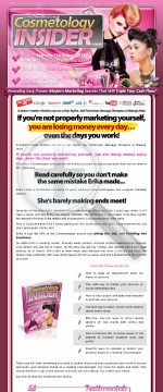 Marketing Secrets Every Cosmetologist Needs To Know-huge Market! preview. Click for more details